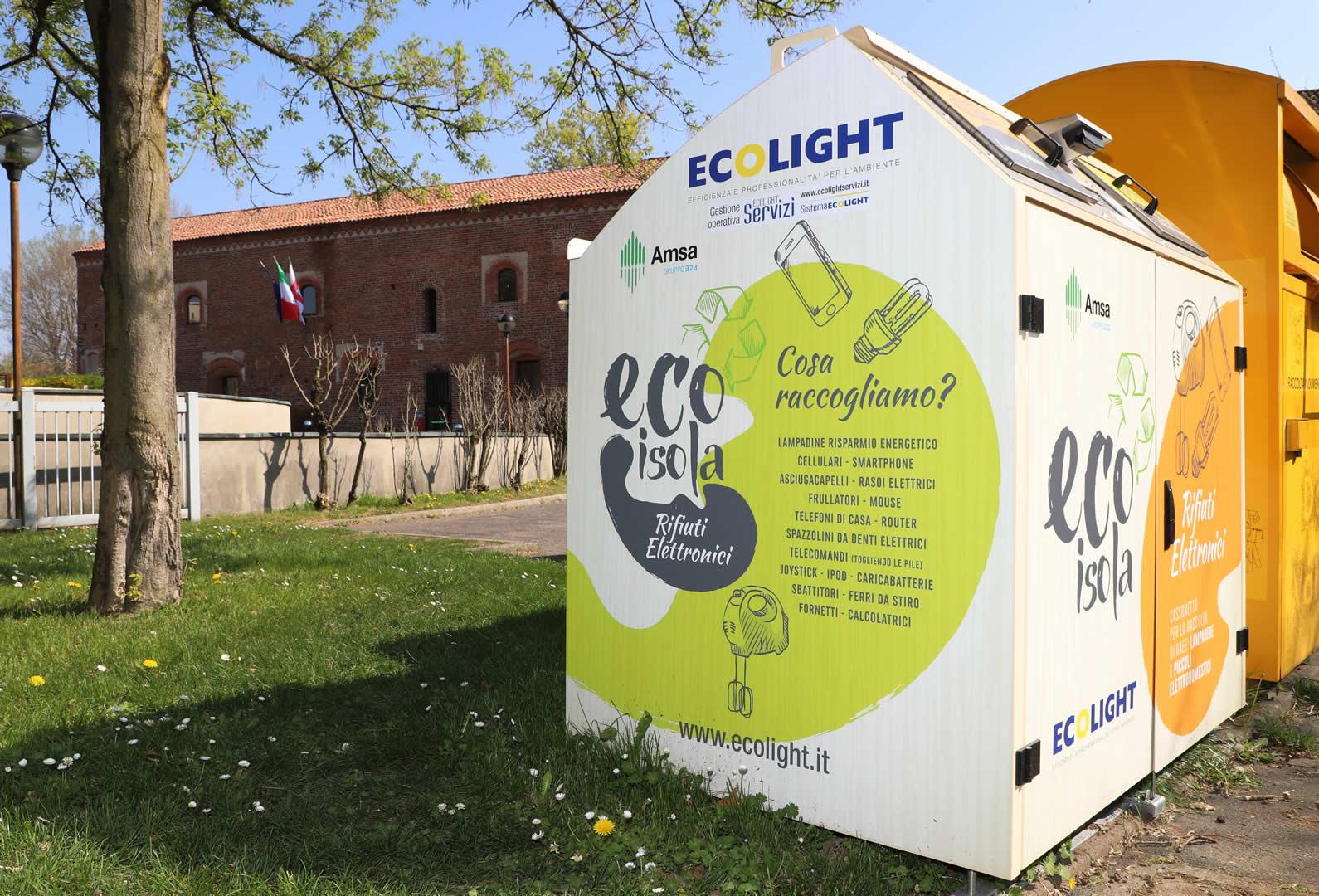A Milano le EcoIsole RAEE fanno scuola alla rete globale C40