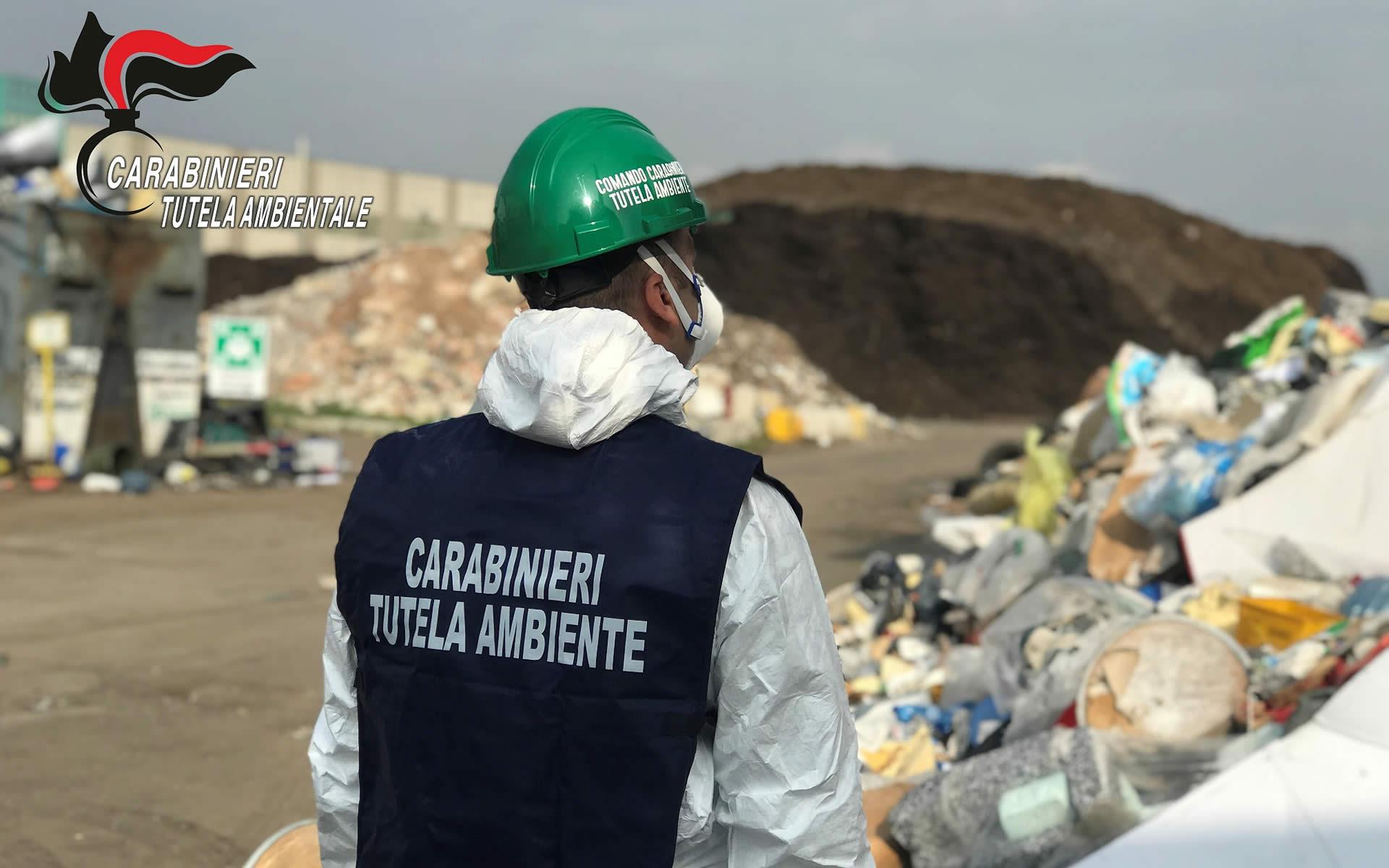 Ancora rifiuti stoccati illecitamente. Due denunce e beni sequestrati per 2 milioni di euro